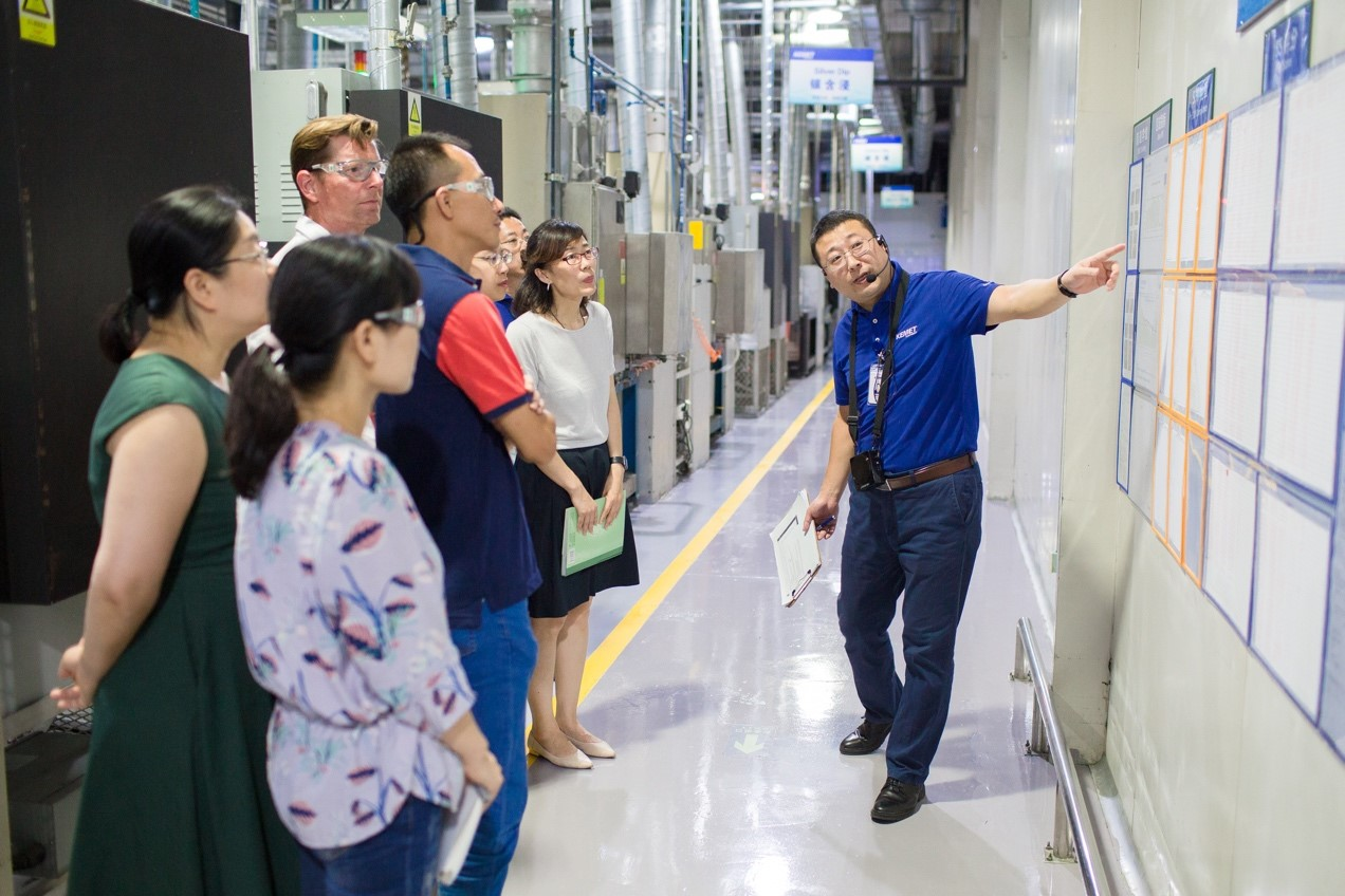 Win in China Session Review - KEMET Factory Tour | Amcham