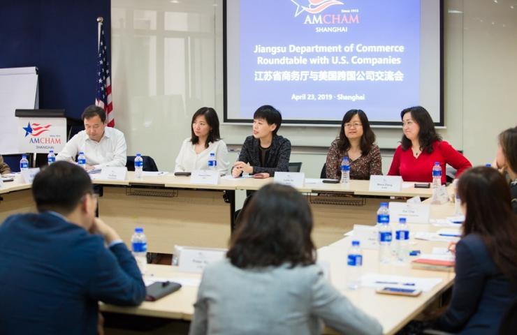 Risultati immagini per AmCham Shanghai